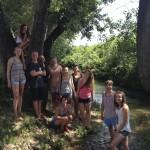 where Lydia was baptised